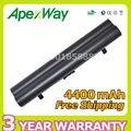 Apexway 4400 mah batería del ordenador portátil para lenovo ideapad s10 s10e s12 s9 s9e 45k2177 serie 51j039 45k127 45k1275 l08s3b21 l08s6c21