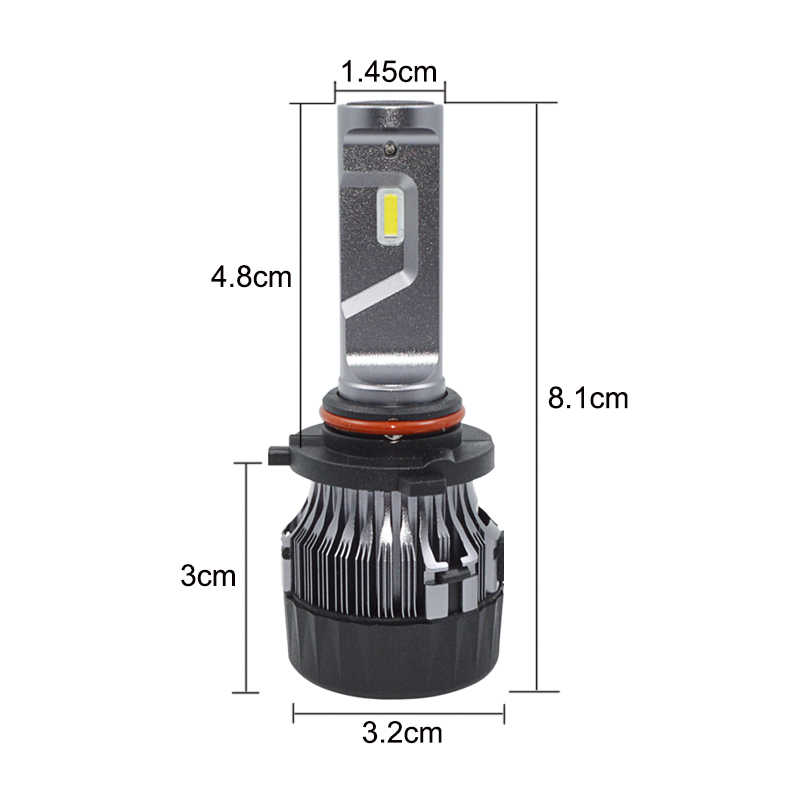 Car Headlights 9006 LED HB3 Hight power 60W Super Bright Auto Front Bulb 9006 Headlamp car light Car Lighting driving lights