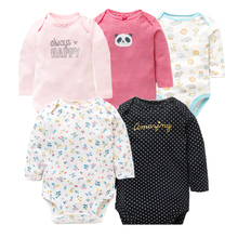 Baby Long Sleeve Bodysuits 5PCS/LOT