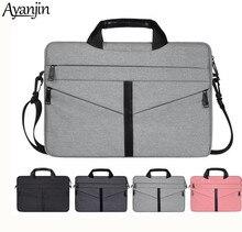 11 13 14 15.6 Inch Shoulder handbag for MacBook Lenovo Dell HP Asus Women Men Computer Bag 15.6 Notebook Sleeve Cover Case 2019