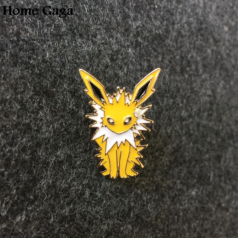 10pcs/lot Homegaga Pocket Monsters Zinc Tie Cartoon Funny Pins Backpack Brooches For Men Women Hat Decoration Badges D1121 Crazy Price Apparel Sewing & Fabric