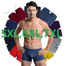 5XL,6XL,7XL Men Boxer Soft Breathable Underwear Male Comfort