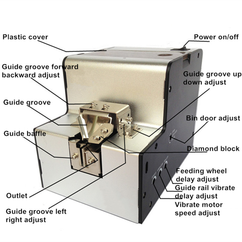 Darmowa wysyłka precyzja automatyczny podajnik śrub elektryczny - Zestawy narzędzi - Zdjęcie 6
