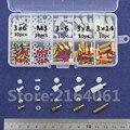 NOVO M3 Latão/Nylon Standoff Spacer/Parafuso/Porca do Sexo Feminino Masculino PCB Placa Platter Sortimento Parafuso Kit Set # M3