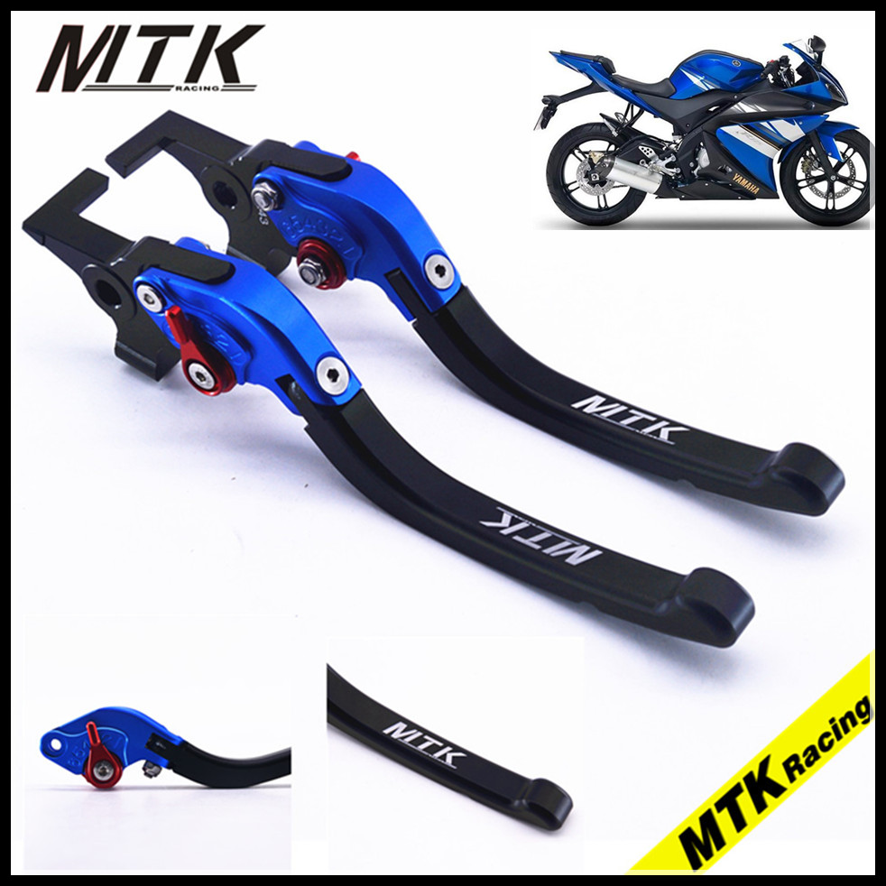 MTKRACING With Logo For YAMAHA SUPERTENERE/XT1200ZE FJR 1300 XJR 1300/Racer CNC Adjustable Motorcycle Brake Clutch Levers for yamaha supertenere xt1200ze fjr 1300 xjr 1300 racer cnc adjustable levers brake clutch levers blade motorcycle accessory