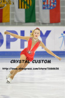 Crystal Custom Figure Skating Dress Girls New Brand Ice Skating Clothes For Competition DR4620