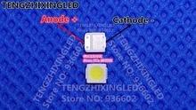 ليكستار LED الخلفية التلفزيون عالية الطاقة LED رقائق مزدوجة 1 واط 3 فولت 3030 كول الأبيض 3030V7 تطبيق التلفزيون