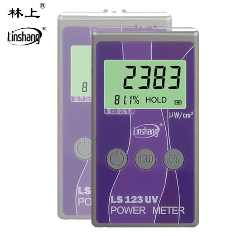 LS123 UV Power Meter, UV intensity meter Portable Ultraviolet Intensity Tester, Ultraviolet transmittance Power Instrument tools цены