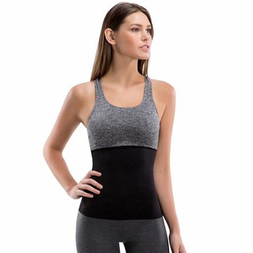bb9195a2b7bf3 2018 Women s Neoprene Corsets Hot Body Shaper Slimmer Belt Hot Belt Waist  Trimmer Hot Body Fat Burner Waist Trainer Sweat Shaper-in Waist Cinchers  from ...