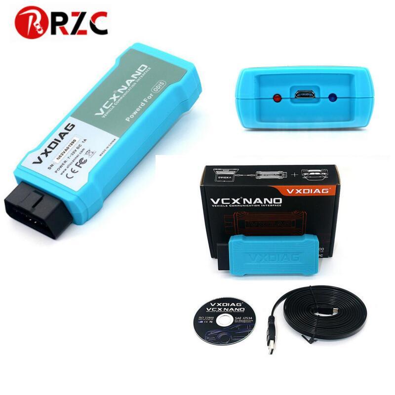 VXDIAG VCX NANO for VW GDS2 Wifi Version Diagnostic Tool VXDIAG 5054 ODIS 4 0 3