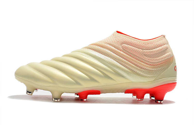 1d488897 ... Newest Release ZUSA COPA 19+ FG OFF White Solar Red Football Boots 2019  Soccer Cleats ...