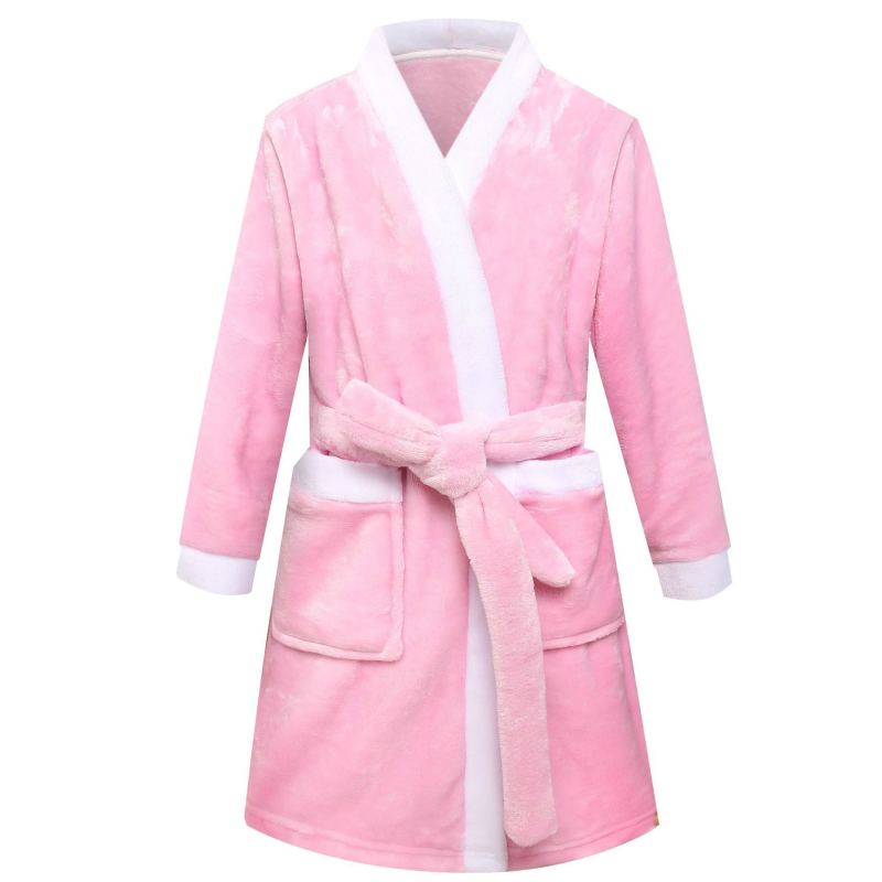 Girls Boys Children's Night-robe Baby Bathrobe Winter Kids Toddler Pajamas Sleepwear Pyjama Nightgown Clothes Pijamas Infantil