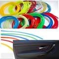 1 м/лот Стайлинг автомобиля «сделай сам» универсальная холодная линия гибкая внутренняя отделка молдинг отделка полосы Аксессуары 13 цветов