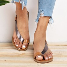 Summer Women Sandals Shoes Gladiator Flat Sandals Women Casual Slip On Beach Sandals Shoes Sandalias Mujer 2019