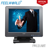Feelworld FW121AHT 12.1 Inch 800x600 TFT LCD Touch Monitor with HDMI VGA DVI AV 12.1 Touch Screen Monitors