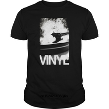 Classic B/W vinyl turntable t-shirt