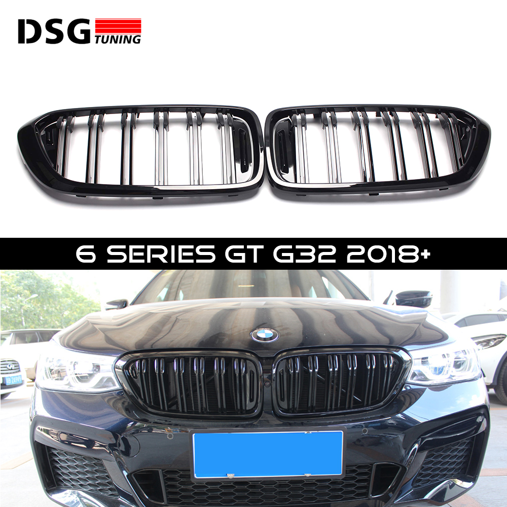 Grill For BMW G32 630i 640i 6 Series GT ABS Kidney Grille 2018+Grill For BMW G32 630i 640i 6 Series GT ABS Kidney Grille 2018+