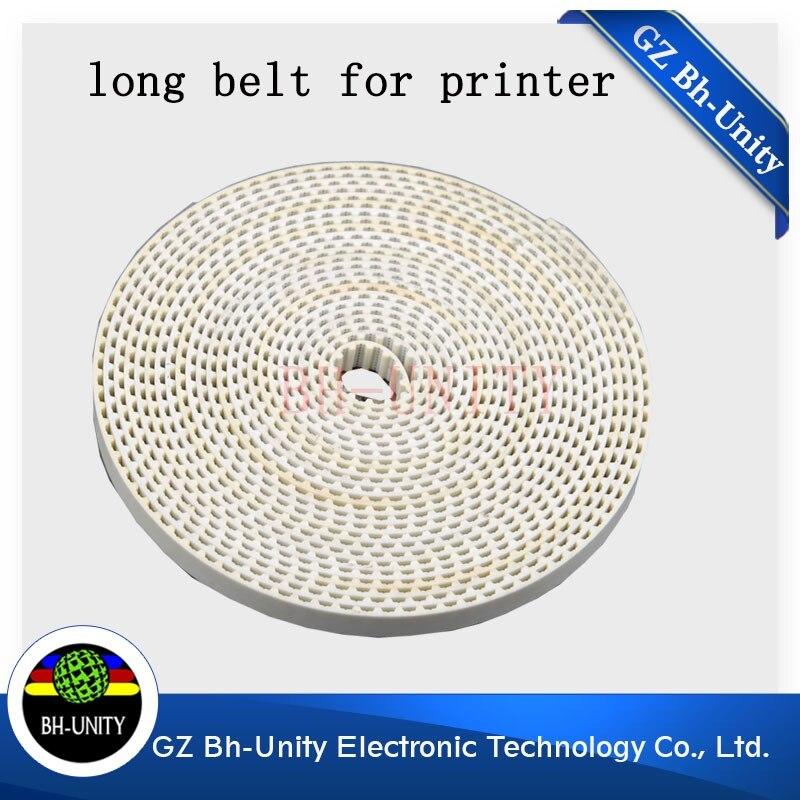 hot sale  inkjet  printer belt for wit color flora titanjet bemajet    large format printer spare part