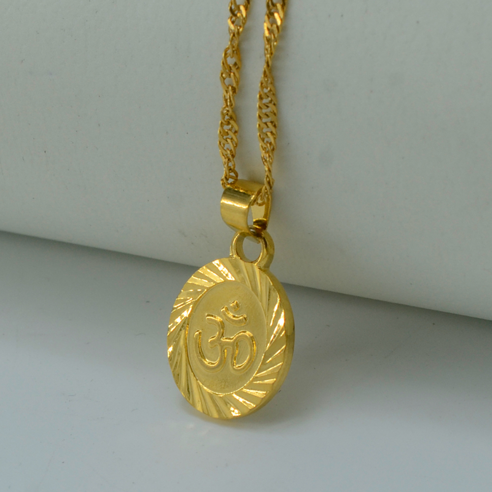 Gold om pendant reviews online shopping gold om pendant for Zen culture jewelry reviews