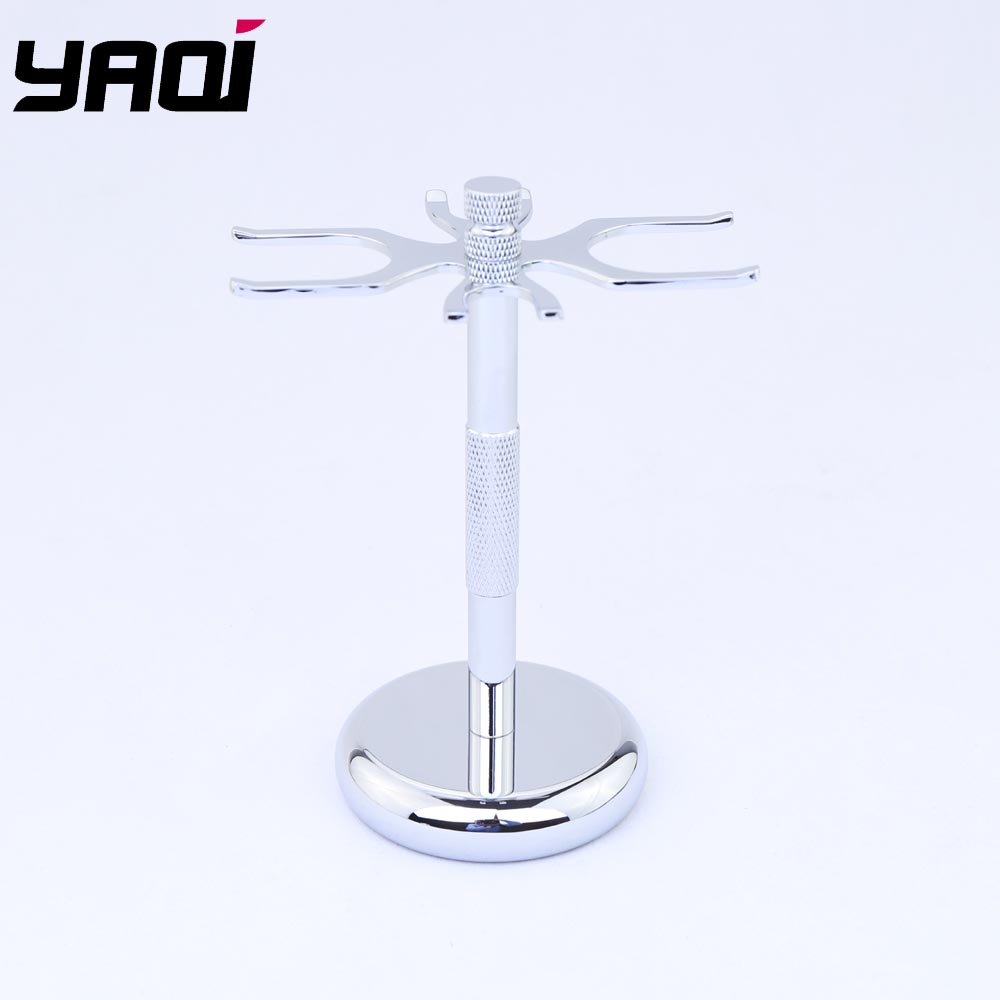 Yaqi Shaving Stand 4 Prongs For 24mm 26mm 28mm Shaving Brushes
