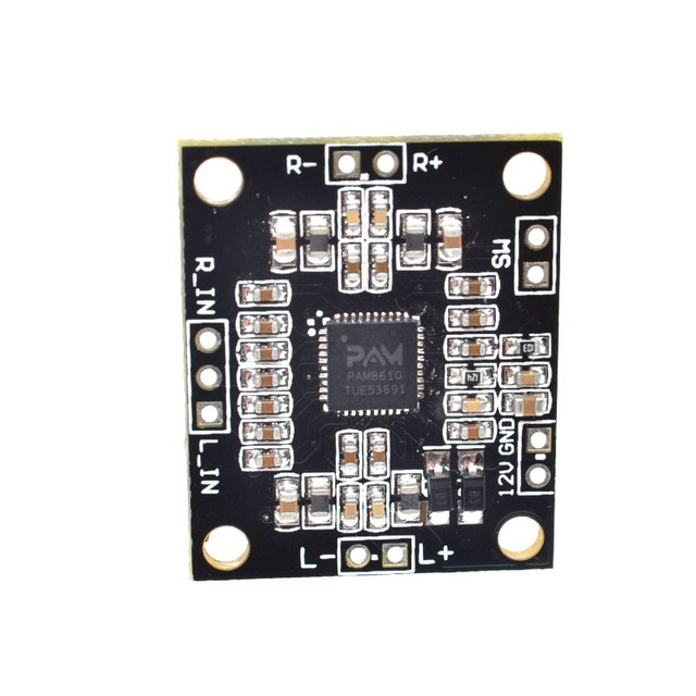 PAM8610 digital power amplifier board 2 x15w dual channel stereo ...