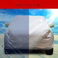 Three Carriage Snow Rain sun prevent resistant Hook Up Sedan Case for the auto Anti UV Protection