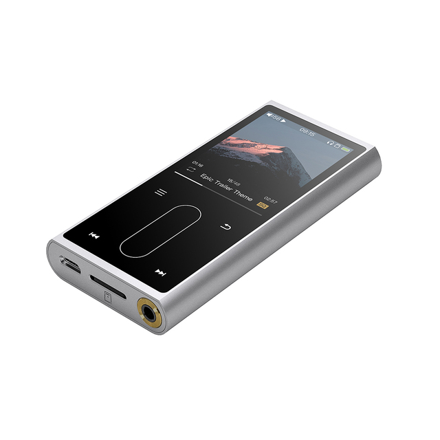 FiiO M3K Metal case Sport Audio Mini Lcd screen HiFi Mp3 Player Music Audio Mp 3 With Voice Recoder for Student,Kids 4
