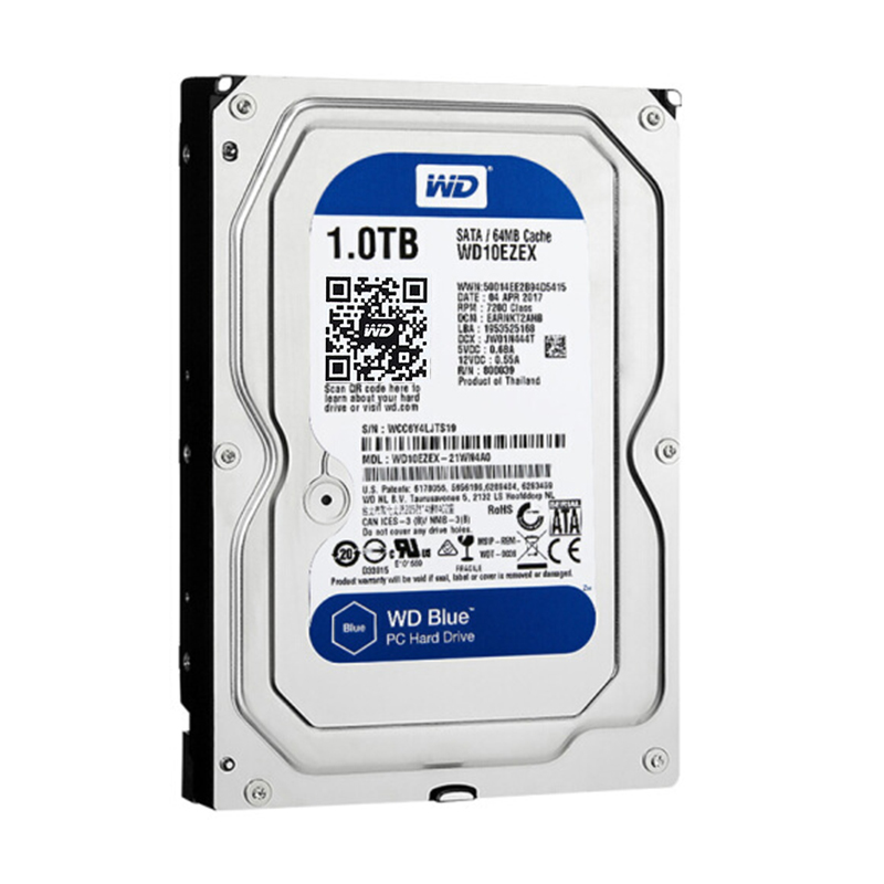 WD Blue 1TB hdd sata 3.5 disco duro interno internal hard disk harddisk hard drive disque dur desktop hdd 3.5 PC WD10EZEX