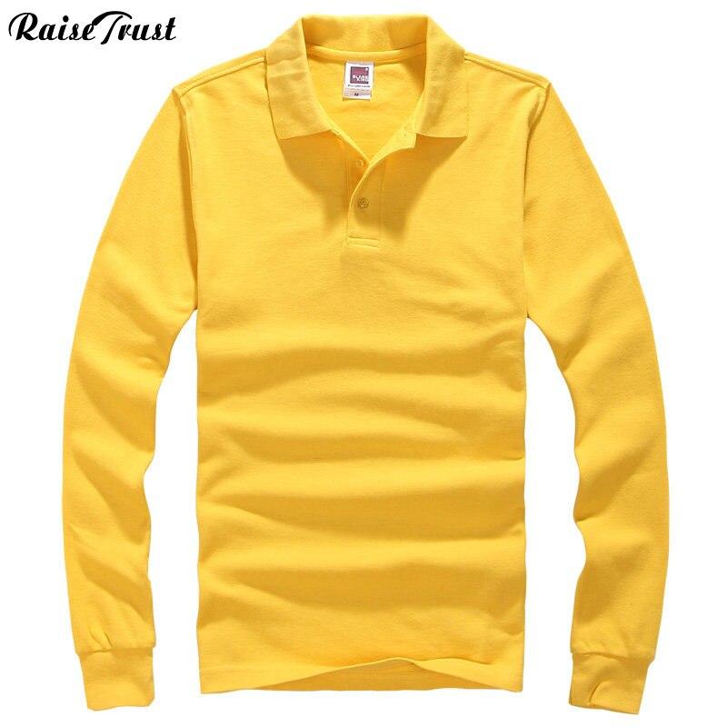 2031db47786409 2019 nowe top homme koszula mężczyzna marki z długim rękawem męskie koszule  bawełna klapa europejskiej rozmiar S-3XL polo koszulka solid