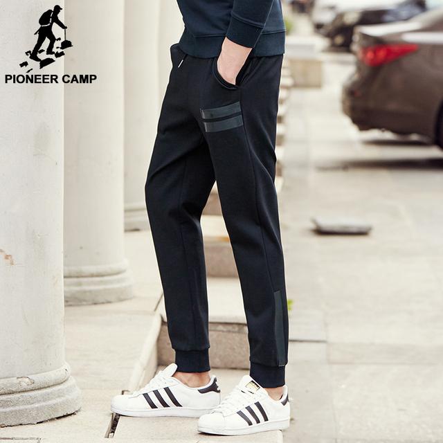 Pioneer camp famosa marca causal calças corredores dos homens primavera outono masculinos calças moda casual de alta qualidade dos homens de roupas 622204