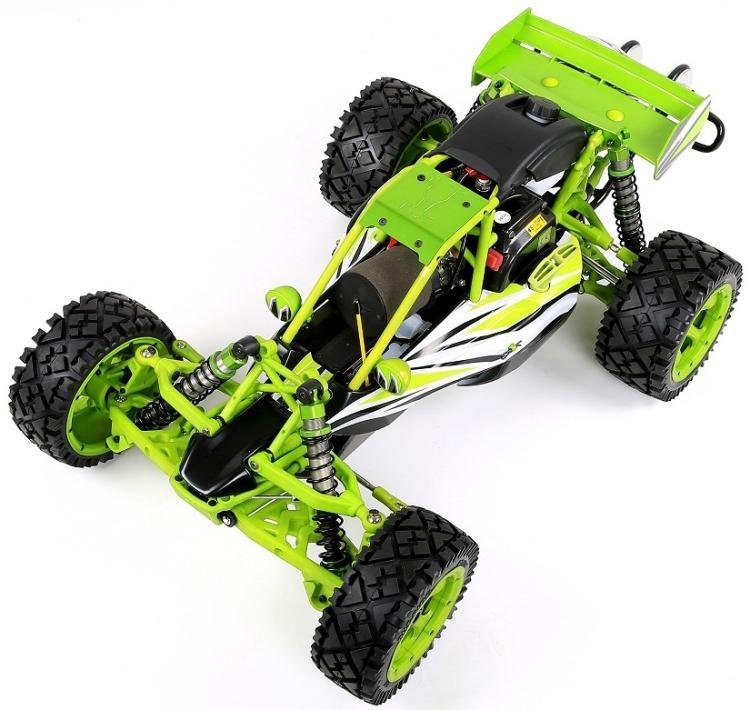 Rofun Q Baja 36CC moteur à essence puissant 2 T matériau en nylon haute résistance avec roues à tête