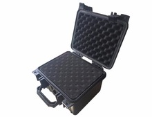 Internal 233*178*155mm crushproof strong suitcase with standard precut foam