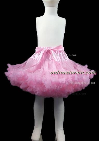 Infantil al por mayor de las faldas de las muchachas enagua faldas del cordón del bebé niñas pettiskirts faldas del bebé