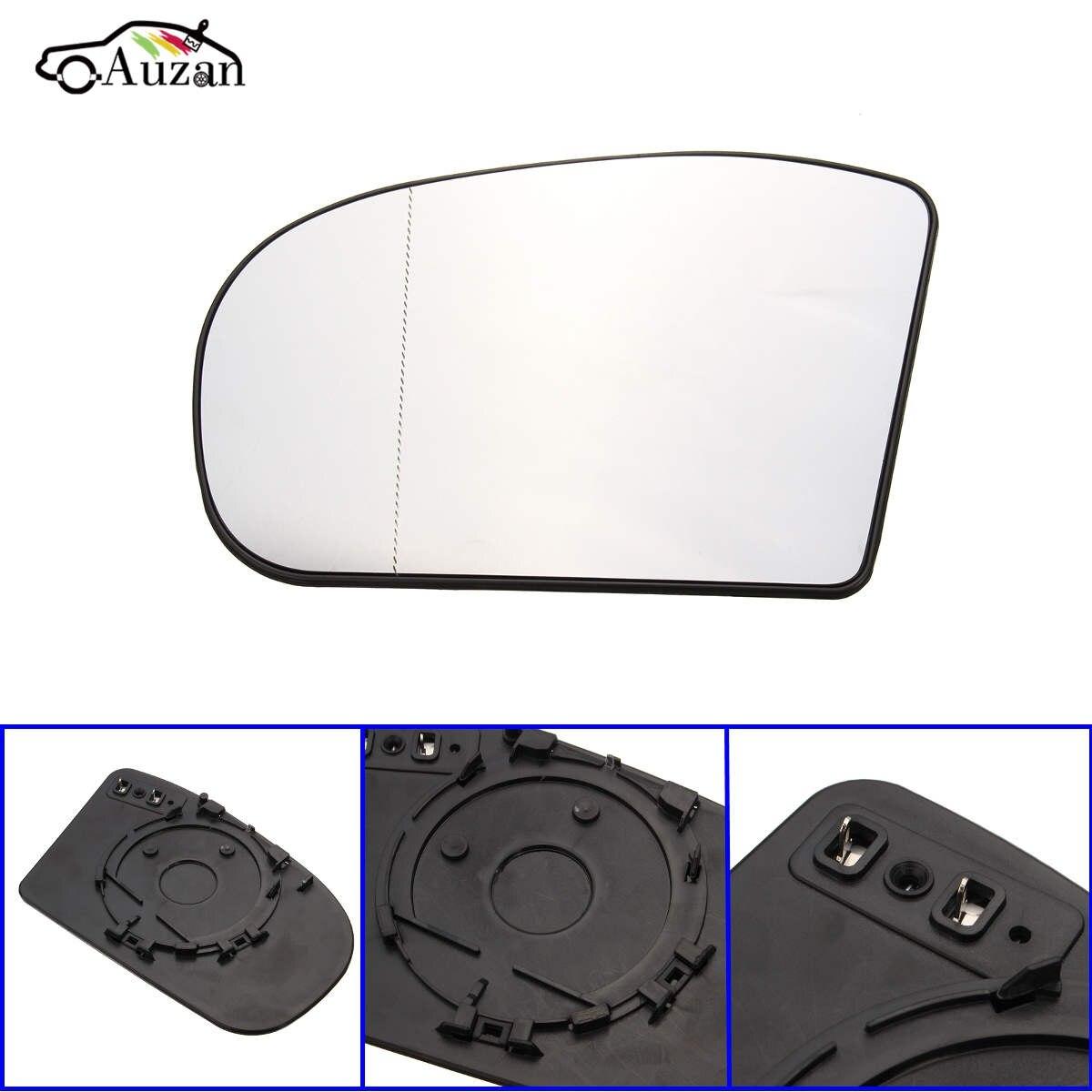 1 Uds. Lente de espejo retrovisor lateral izquierdo para Benz clase C W203 2000 20012002 2003 2004 2005 2006 2007 Saloon reemplazo