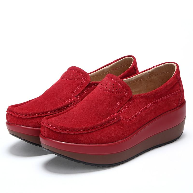 Automne Confortable Lumière De Weideng 35 Couleur Femmes Vulcaniser Mode vert Sneakers Fond Printemps Noir Chaussures Taille 4 Femme bleu 42 gris Décontracté rouge qF85zF