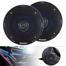 Alto-falante coaxial hi-fi para carro, 2 peças, 4 Polegada 180w, porta automotiva, áudio estéreo, alcance total, alto-falantes de frequência para carros