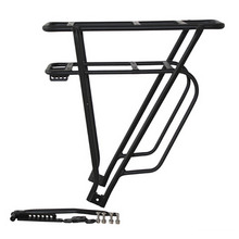 Aluminum Alloy Bicycle Cargo Rack Carrier Rear Luggage Cycling Pannier Bag Shelf Bracket
