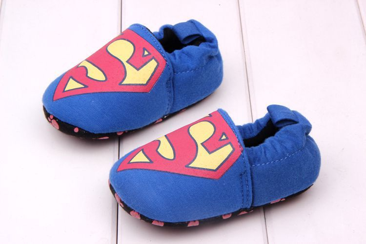 2017 New Lovely <font><b>Toddler</b></font> First Walkers Baby Shoes Round Toe Flats Soft Slippers Shoes <font><b>Spiderman</b></font> US captain Minni Mouse