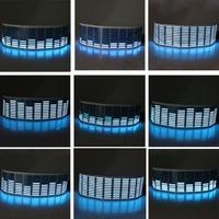 led music Music Rhythm Sound Audio Activated Sensor Car LED Flash Light Equalizer Blue (5)