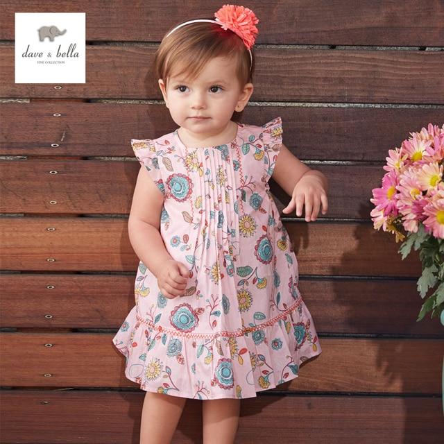 Db3223 Dave Bella Summer Baby Fl Cute Princess Dress Flower Kids Birthday Clothes