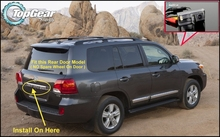 Car Camera For TOYOTA Land Cruiser LC 200 LC200 2008~ 2014 High Quality Rear View Back Up Camera For TG Fans Use| CCD + RCA