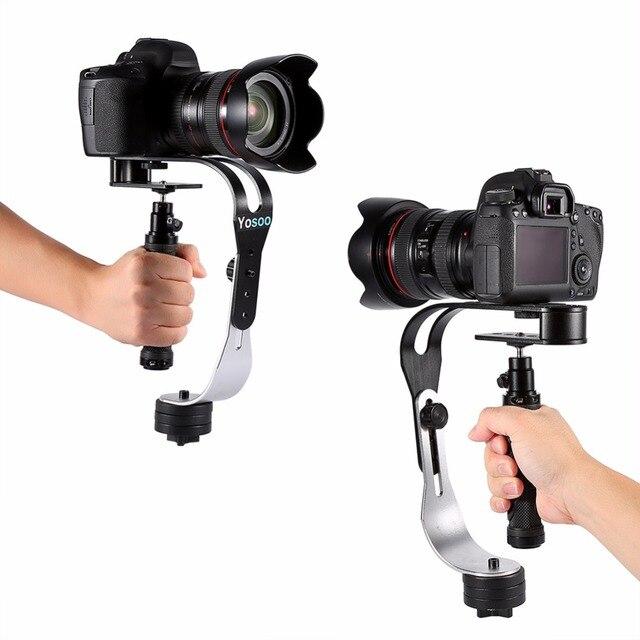 עבור Feiyu/Zhiyu עוזר צלם כף יד מייצב וידאו דיגיטלי מצלמה מחזיק תנועה Steadicam עבור Canon/ניקון/סוני/gopro טלפון DSLR