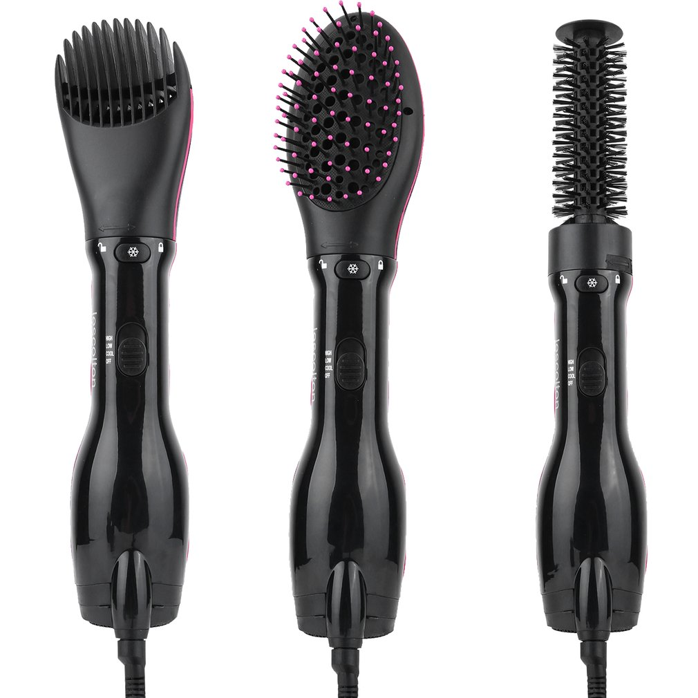 Tripple-function Swivel Cord Hair Clipper Hair Cutting Hair Dryer Hair Trimmer With 3 Combs Professional Comb Kits fashion rechargeable hair clipper with accessories set 220 240v ac