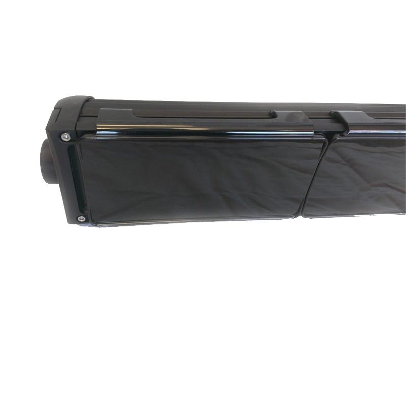6inch 8inch Black LED Light Bar Covers Straight Curved LED Light Bar Shell Kit For 4x4 4WD SUV ATV UTV Offroad Cars JEEP Trucks