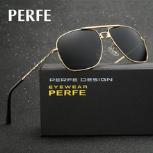 PERFE New Casual Men's Sunglasses Polarized HD Coating Mirror Sun Glasses Male Eyewear Accessories For Men occhiali da sole uomo