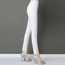 Women Pants 2019 Spring Summer High Waist Pencil Pants Slim Casual Female Stretch Skinny Trousers Pantalon Femme Plus Size