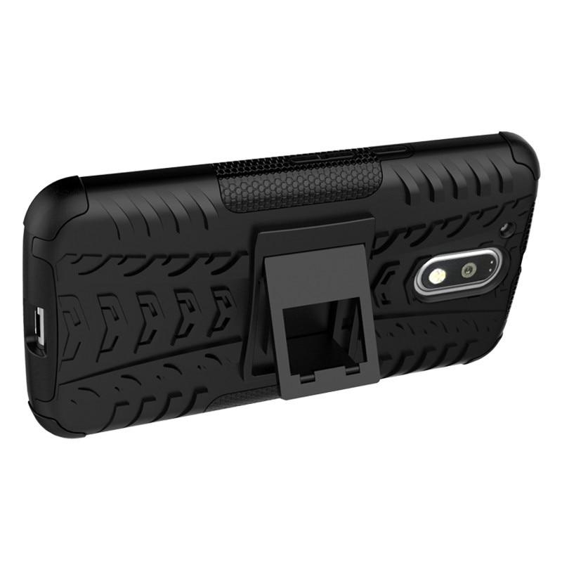 Nueva funda de teléfono antideslizante de doble capa con soporte - Accesorios y repuestos para celulares - foto 3