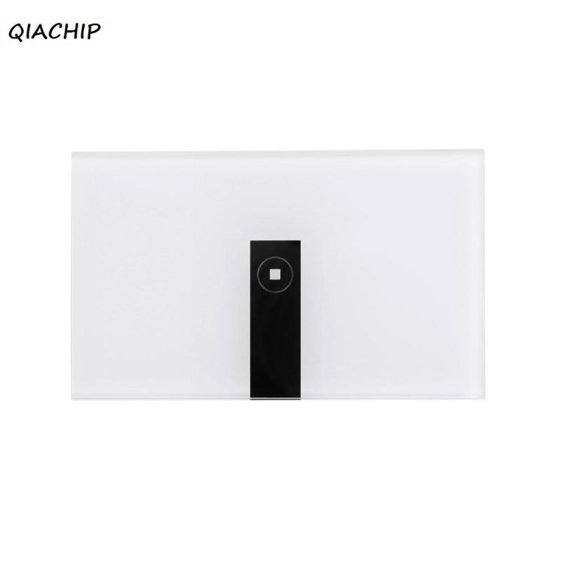 QIACHIP WiFi Smart Switch 1CH Wall Switch Remote Control Timing Function Support Amazon Alexa Google Home Control light Switches dc24v remote control switch system1receiver