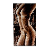 Noir femme nue