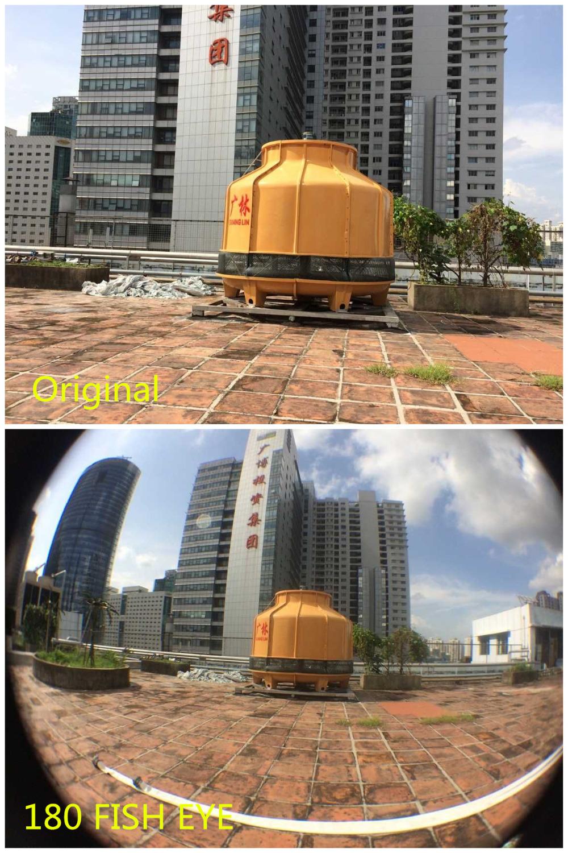 Zoom Optical Lens 4 in 1 Mobile Phone Telescope 9X Telephoto fish eye wide angle macro camera lens for iphone7 6 5 huawei lenovo 7